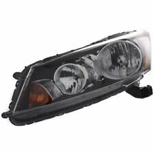 For Accord 08-12, CAPA Driver Side Headlight, Clear Lens