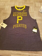 Pittsburgh Pirates Nike Women's Small Cooperstown Collection Gray Muscle Tank