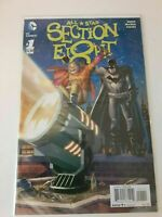 All Star Section Eight #1 DC Comics. Batman -Bagged and Boarded.