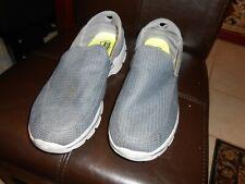 Skechers Gray Tone Men's Go Walk Slip On Sneaker Shoe Size 13