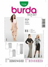 Burda Pattern 7124Skirt–Misses Evening Skirt–Size 10-24