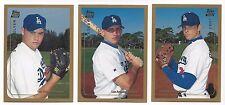 Los Angeles Dodgers 1999 Topps Traded team set - Luke Prokopec, Bubba Crosby +++