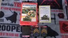 Armor Battle (for Intellivision) CIB Complete in Box!!!