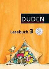 Duden Lesebuch 3. Mit Hörtexte-CD, Deutsch Klasse 3, Duden Paetec, NEU!