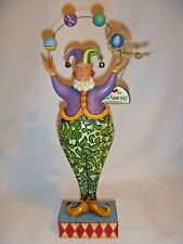"Jim Shore ""Juggling Jester"" figurine"