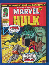 Marvel Comic - The Mighty World of Marvel - Incredible Hulk - Issue 179 - 1976
