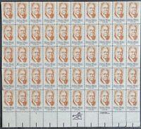 USA Briefmarken Bogen 50x 20 Cent 1984 Horae Moses #30693-S