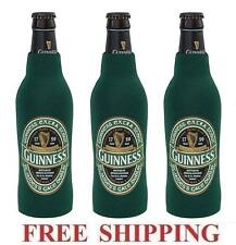 Guinness Stout St.Patrick 3 Beer Bottle Suit Coolers Koozie Coolie Huggie New