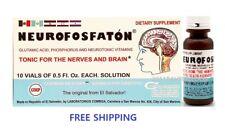 Neurofosfaton Tonic FOR NERVES AND BRAIN - PARA NERVIOS Y CEREBRO VITAMINS