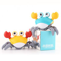 Crab Bath Toy, Wind Up Crab Bath Tub Toy Floating Water Toys Clockwork Swimming