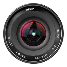 Meike 12mm f/2.8 Ultra Wide Angle Fixed Lens for 4/3 system Mirrorless Panasonic