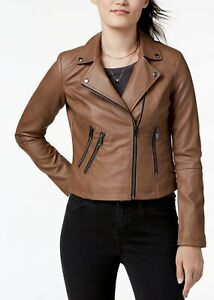 Coffee Shop NY Women Faux Leather Jacket Motorcycle Bike Party MSRP $70 NWT