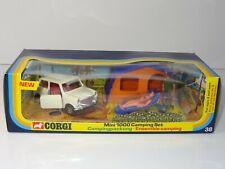 Corgi 38 MINI 1000 CAMPING SET - GS 38 GIFTSET - EX SHOP STOCK
