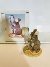 Vintage Charming Tails I See Things Clearly Now Mouse Figurine 89/626