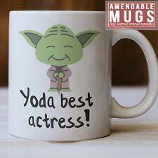 Actress Mug, Yoda Best Actress Mug, Funny Actress Gift Idea