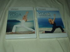 LOT of Element Yoga DVD's NEW Power+For Weight Loss Exercise Mind & Body Workout