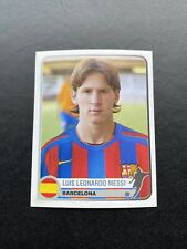 Panini Messi Rookie Champions Of Europe-2004-2005 Nr 74 Argentina Barcelona