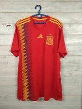 Spain Jersey 2018 2019 Home XL Shirt Adidas Football Soccer CX5355