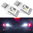 7443 CSP LED 6000K Reverse Back up Brake Tail Stop Parking Light Bulbs For Mazda