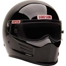 SIMPSON RACING BANDIT HELMET XLRG #6200042 reg. BLACK SA2015 SFI HEAD/NECK READY