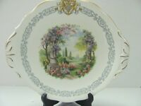 "VINTAGE QUEEN ANNE  PLATE ""ROYAL KEW GARDENS"" MADE IN ENGLAND"