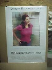 RIDING IN CARS WITH BOYS, orig rolled D/S 1-sht / movie poster (Drew Barrymore)