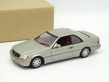 Minichamps SB 1/43 - Mercedes 600 SEC Rauchsilber