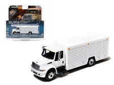 2012 INTERNATIONAL DURASTAR 4400 BEVERAGE TRUCK WHITE 1/64 GREENLIGHT 29776