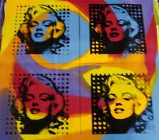 """FOUR MARILYN'S"" by Gail Rodgers - One-of-a-Kind Hand-Pulled Silkscreen - Var #2"