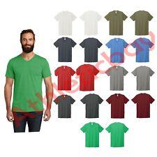 Allmade Unisex Tri-Blend V-Neck Tee Soft T-Shirt From Recycled Plastic Bottles