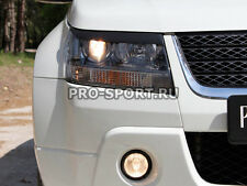 Suzuki Grand Vitara 2008-now paintable headlights eyebrows, gloss, 2 pcs.