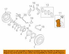 47722-60020 Toyota Mounting, rear disc brake cylinder, lh 4772260020, New Genuin