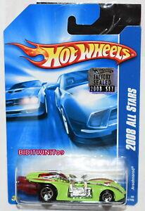 Hot Wheels 2008 Tout Stars Arachnorod Vert Usine Scellé