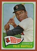 1965 Topps #29 Felix Mantilla NEAR MINT Boston Red Sox FREE SHIPPING