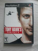 Tony Hawk Project 8 PS2 Playstation 2 Game Complete Skateboarding