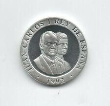 SPAIN 200 pesetas 1992 MADRID EUROPEAN CULTURE CAPITAL Silver KM 884a Proof Rare