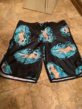 "Rqqba Board Shorts ""Naked Lady Swimming"" Size 32 (119)"