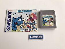 Die Schlumpfe (Les Schtroumpfs) - Nintendo Game Boy - PAL NOE - Avec Notice
