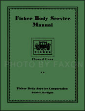 Pontiac and Oakland Body Repair Shop Manual 1926 1927 1928 1929 1930 1931 1932