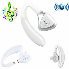 White Wireless Bluetooth Stereo Headset For LG G5 Apple iPhone 7 6S Plus 5S HTC