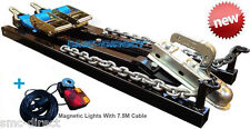 SMC Car Towing A Frame + MAGNETIC LIGHTS Recovery Dolly Trailer Heavy Duty NEW!