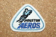 Houston Aeros WHA Felt Embroidered Patch New Old Stock Unsewn