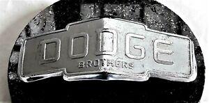 1937 1938 DODGE BROTHERS truck pickup grille emblem. ORIGINAL
