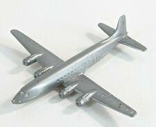 Vintage 1950s Kellogg's Cereal Premium United DC-7 Mainliner Airplane Used