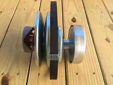 "40 Series Go Kart 5/8"" Driven 1"" Driver Clutch Pulley FREE BELT 203785"
