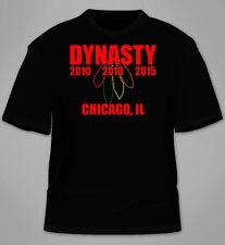 Dynasty T-Shirt. Chicago Blackhawks Championship Stanley TShirt Kane Jersey Tees