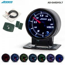 "52mm 2"" DIGITAL ANALOG LED Voltmeter Volt VOLTAGE GAUGE  APEXI DEFI GREDDY POD"