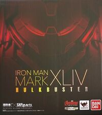 Used Bandai S.H.Figuarts Iron Man Mark Xliv Hulkbuster PVC Pre-Painted