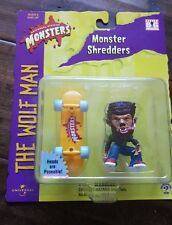 1999 UNIVERSAL STUDIOS MONSTERS MONSTER SHREDDERS THE WOLFMAN  WOLFMAN UNOPENED