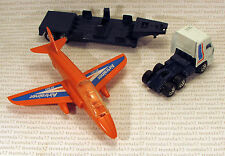 Vintage Airtrainer Jet Plane W Dap 3300 Space Cab Low Bed Trailer Matchbox Loose